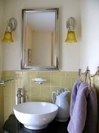 yellow and gray bathroom wall art fluffy towels and cylinder wax