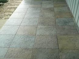 Decor Tile Flooring Design Ideas For Patio Decoration With Wooden by Outdoor Stone Tile Flooring Decor All About Home Design