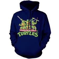 tmnt classic crew mens hoodie mutant turtles