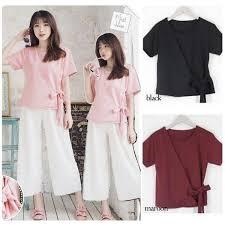 blouse wanita blouse wanita atasan wanita korean style pakaian wanita
