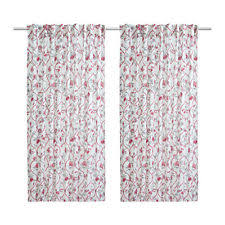 White Linen Curtains Ikea Ikea 100 Linen Curtains Drapes Valances Ebay
