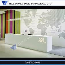Corner Reception Desk China Reception Counter Desk Information Desk Corner Reception