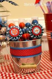 4th Of July Party Decorations Candy Favors Party Decorations And Diy Ideas For Independence Day