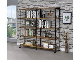 coaster home office bookcase 801543 winner furniture