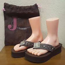 womens justin boots size 11 justin boots slip on flip flops for ebay