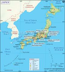 Map Of Red And Blue States by Japan Map Map Of Japan