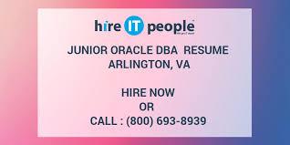 oracle dba resume sample pdf junior hire it people we get done