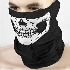 cool scary skull design adults multi function