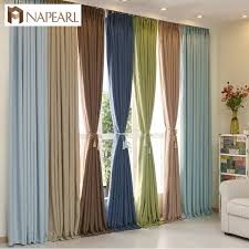 Blackout Curtains Modern Curtain Solid Color Blackout Curtains Custom Window