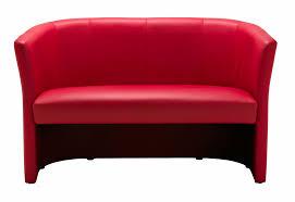 Tub Sofa Leather Nero Leather Tub Sofa Office Furniture