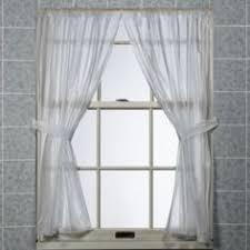 Grey Bathroom Window Curtains Buy Infinity Bathroom Window Curtain Panels From Bed Bath U0026 Beyond
