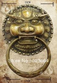 foo dog door knocker scy large bronze foo dog foo lion door knocker 11 h in