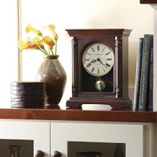 frank lloyd wright collection willits mantel clock by bulova