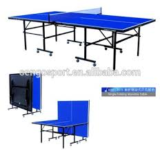 collapsible table tennis table cheapest single folding good quality good sales table tennis table