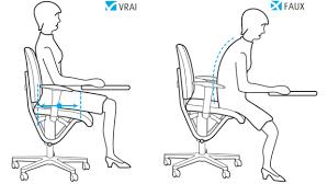 position assise bureau l assise idéale moizi