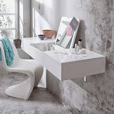 white contemporary dressing table modern dressing mirror images wallmounted modern white dressing