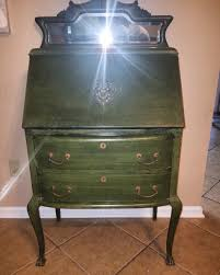 brass key secretary desk secretary my antique furniture collection