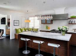 Transitional White Kitchen - modern kitchen islands pictures ideas u0026 tips from hgtv hgtv