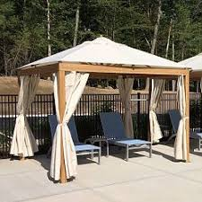 Patio Gazebo Patio Gazebo Outdoor Gazebos Garden Screened Tent Modern