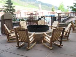 Log Outdoor Furniture by Aspen Log Outdoor Rocking Chair Rustic Log Furniture Of Utah