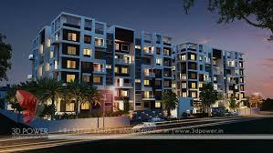 Apartment Design Rendering D Contemporary Modern Apartment - Apartment exterior design