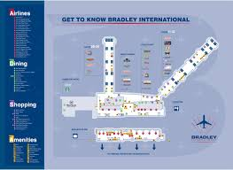 United International Route Map by Maps Bradley International Airport