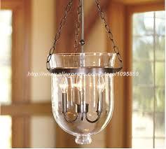 clear glass light fixtures industrial bucket glass pendant light dining room restaurant retro