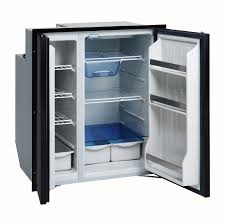 under cabinet fridge and freezer isotherm cruise 200 classic black side by side dc or ac dc fridge