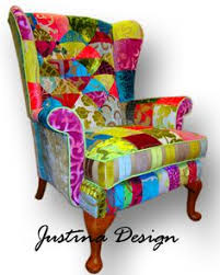 kelly swallow u0027s fabulous patchwork chair take a load off