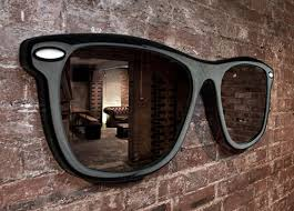 cool wall cool looking wall mirror by thabto