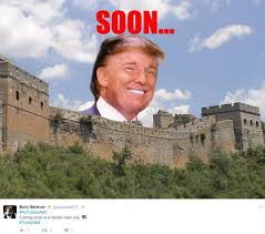 Meme Wall - donald trump mexican wall memes erupt on twitter as leaders