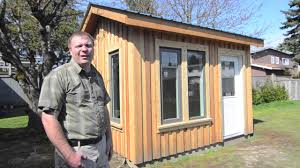 How To Make A Small Outdoor Shed by Backyard Office U0026 Studio Shed Youtube