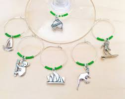 wine charms etsy