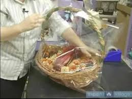 Gift Baskets Food How To Make Elegant Gift Baskets How To Wrap A Gift Basket With