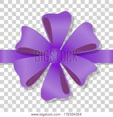 flower bow purple flower bow on transparent vector photo bigstock