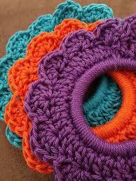 crochet hair bands best 25 crochet hair accessories ideas on crocheted