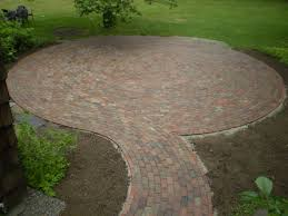 how to make a brick patio floor home outdoor decoration
