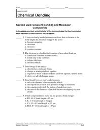 chemical bonding worksheet answers 100 images learning smart
