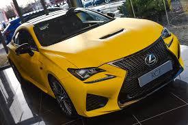 lexus ct200 yellow matte yellow rc f at lexus belfast lexus rc350 u0026 rcf forum
