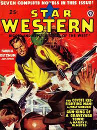 1946 star western magazine cover the wild west pinterest