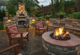 Pizza Oven Fireplace Combo by Big Backyard Pizza Oven