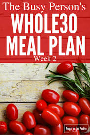The Busy Person U0027s Whole30 Meal Plan Week 1 U2014 Allison Lindstrom