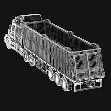 volvo semi truck models volvo vnl670 trailer truck 3d model in truck 3dexport
