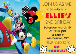 mickey mouse 2nd birthday invitations mickey mouse digital invitation how to make at home diy youtube