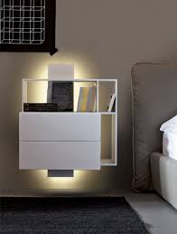 Bedroom Nightstand Ideas Bedroom Furniture Wall Mounted Table Floating Bedside Table Low