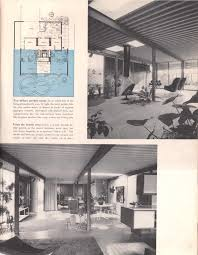 eichler floor plan mid century homes pinterest home cas and
