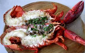comment cuisiner un homard homard grillé au four