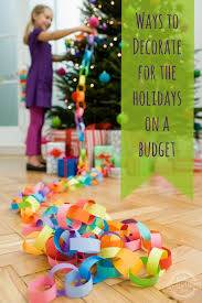 festive ways to decorate for the holidays on a budget