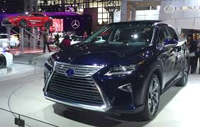 lexus midsize suv 2015 2016 lexus rx 450h and rx 350 debut at the 2015 new york auto show