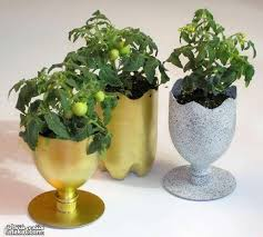 Flower Pots - 10 creative ways to make beautiful flowerpots from ordinary
